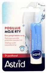 Astrid Extra ošetrujúce balzam na pery s D-panthenolom 4,8 g