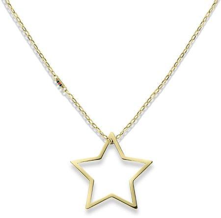 Tommy Hilfiger Zlata ogrlica z zvezdo TH2700851