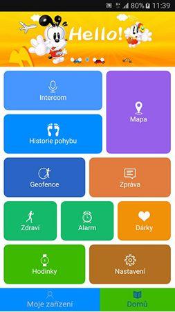 8fe185740 Chytré hodinky s GPS lokátorem LK 702 růžové + SIM karta GoMobil s kreditem  50 Kč ...