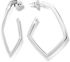 Modesi Srebrni uhani M26012 srebro 925/1000