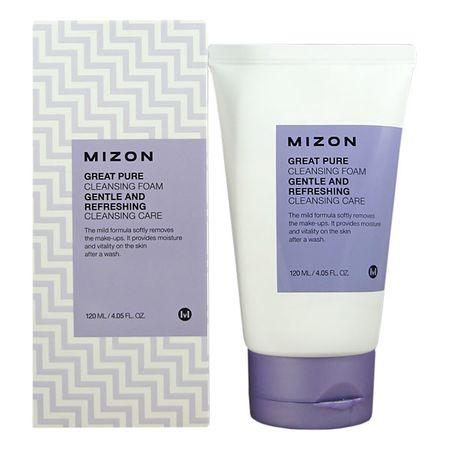 MIZON Jemná čisticí pěna pro všechny typy pleti (Great Pure Cleansing Foam) 120 ml