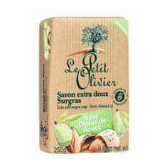 Le Petit Olivier Extra jemné přírodní mýdlo Mandlový olej (Extra Mild Surgras Soap) 250 g