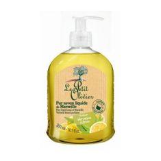 Le Petit Olivier Naturalny płyn mydło z oleju z oliwek i cytryny werbeny (czyste mydło w płynie 300 ml)
