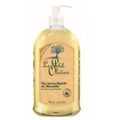 Le Petit Olivier Marseillské prírodné tekuté mydlo s olivovým olejom Natura l ( Pure Liquid Soap) 750 ml