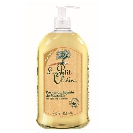 Le Petit Olivier Natural Marseilles természetes folyékony szappanolívaolajjal(Pure Liquid Soap) 750 ml