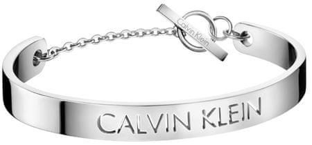 Calvin Klein Merev nemesacél karkötő KJ7CMF00030 (Hossza 17 cm)