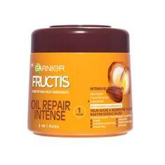 Garnier Fructis hajerősítő hajpakolás extra száraz hajra(Oil Repair Intense 3 In 1 Mask) 300 ml