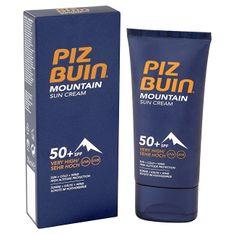 PizBuin Slnečný krém s maximálnou ochranou SPF 50+ (Mountain Sun Cream) 50 ml