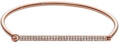 Fossil Črna bronasta zapestnica JF02574791