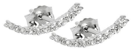 Silver Cat Ezüst fülbevaló cirkónia kövekkel SC232 ezüst 925/1000