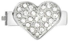 Morellato Sensazioni színtiszta kristályokkal díszített szív drops medál SAJT07