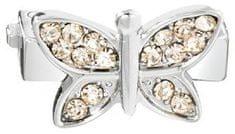 Morellato Motýlek se zlatavými krystaly na náramky Sensazioni SAJT11