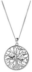 Preciosa Stříbrný náhrdelník s krystaly Tree of Life 6072 00 (řetízek, přívěsek) stříbro 925/1000