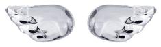 Preciosa Crystal Wings ezüst fülbevaló 6065 00 ezüst 925/1000