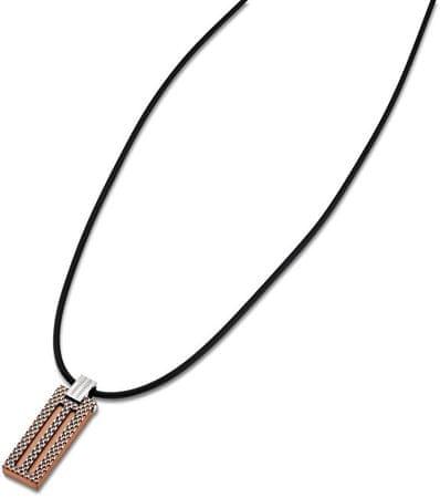 Lotus Style Férfi nyaklán vörös arany medállal LS1797-1/3