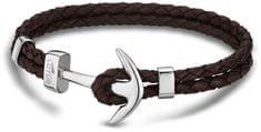 Lotus Style Bőr horgony karkötő LS1832-2/5