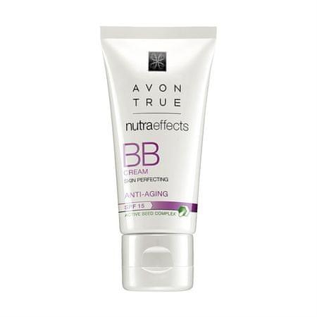 Avon BB krém s omlazujícím účinkem SPF 15 Nutraeffects (Skin Perfecting) 30 ml (Odstín Medium)