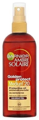 Garnier Olej SPF 20 Ambre Solaire (ochronny olej) 150 ml