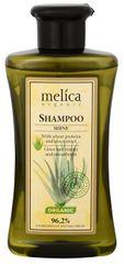 Melica Šampón na vlasy Lesk s pšeničnými proteínmi a extraktom Aloe Vera 300 ml