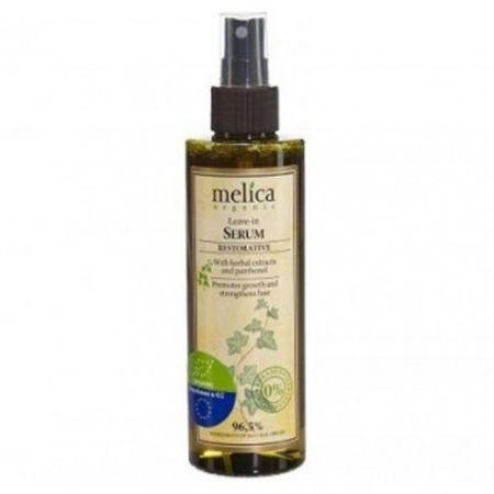 Melica Kitörölhetetlen haj szérum növényi kivonatok és panthenol 200 ml