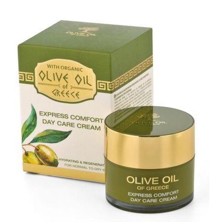 BioFresh Olive Oil Of Greece tápláló nappali krém olívaolajjal normál és száraz bőrre(Express Comfort Day Ca