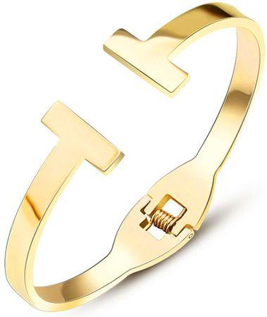 Troli Luxusné pozlátený náramok pre ženy