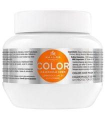 Kallos Maska pre farbené vlasy sa ľanovým olejom a UV filtrom (Color Hair Mask)