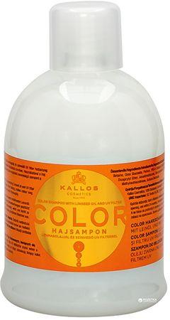 Kallos Sampon festett hajra lenmagolajjal és UV filterrel(Color Shampoo with Linseed Oil and UV filter) (m