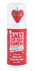 Přírodní deodorant ve spreji Jahoda Rock Chick Sweet Strawberry (Natural Deodorant) 100 ml