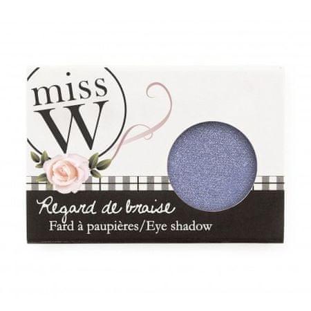 Miss W Oční stíny s vysokým obsahem pigmentu (Eye Shadow) 1,7 g (Odstín No 007 - Pearly Light Brown)