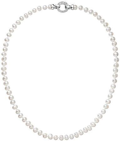 Evolution Group Perličkový náhrdelník Pavona 22001.1 B stříbro 925/1000