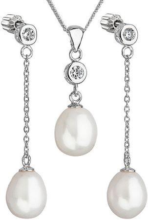 Evolution Group Ezüst gyöngyház, cirkóniumcsövekkel Pavon 29005.1 AAA fehér ezüst 925/1000