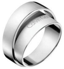 Calvin Klein Jekleni prstan Unite KJ5ZMR0001 (Obseg 52 mm)