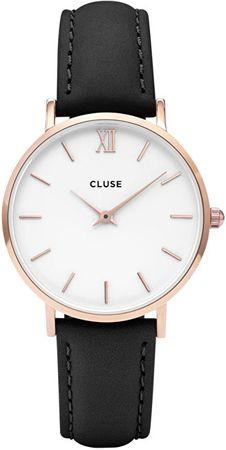 Cluse Minuit Rose Gold White/Black CL30003