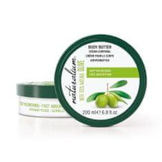Naturalium Tápláló testápoló vaj olívaolajjal (mély tápláló testápoló vaj) 200 ml