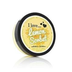 I Love Cosmetics Odżywczy masło do ciała o zapachu cytrynowym sorbetem (Lemon Sorbet odżywczy Masło do ciała) 200 ml