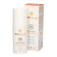 Biosolis Gyorsan felszívódó krém arcra és testre SPF 30 (Melt-In Sun Cream) 100 ml