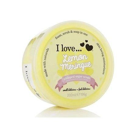 I Love Cosmetics Testradír citromos habcsók illattal(Lemon Meringue Whipped Sugar Scrub) 200 ml