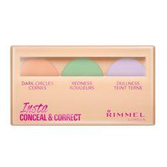 Rimmel korektorów palety skóry (Insta Ukryć i Prawidłowe Paleta) 9 g