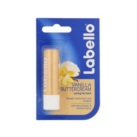 Labello Hidratáló ajakápoló vanília aromábal(Vanilla Butter Cream Caring Lip Balm) 5,5 ml