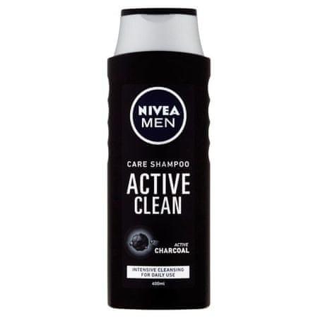 Nivea Sampon férfiaknak Active Clean 400 ml
