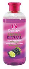 Dermacol Aroma Ritual antistressz habfürdő a szőlő és a lime illattával 500 ml