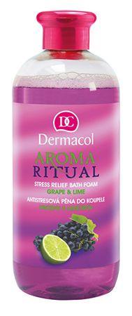 Dermacol Antistresová pena do kúpeľa hrozno s limetkou Aroma Ritual 500 ml