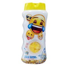 EP LINE Żel pod prysznic dla dzieci + gąbka do mycia Emoji 450 ml