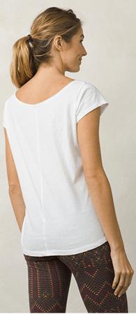 31aa1d11dc Prana Dámské triko Longline Tee White (Velikost XS)