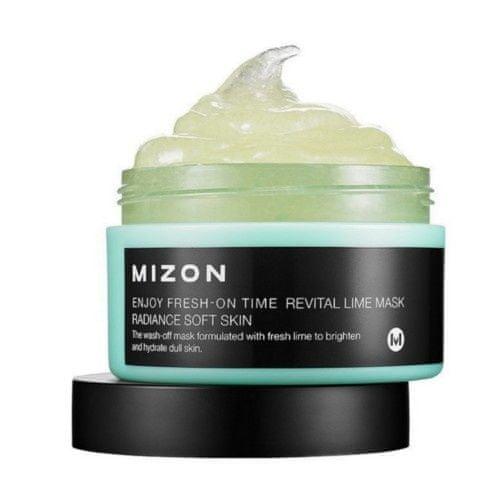 MIZON Revitalizační maska s limetkou na povadlou pleť (Enjoy Fresh-On Time Revital Lime Mask Radiance Soft