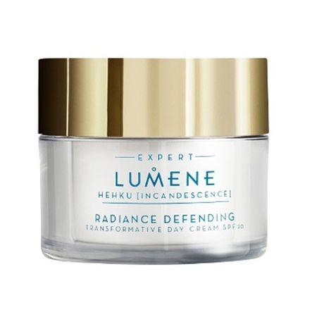 Lumene Hehku regeneráló és bőrvilágosító hatású ránctalanító nappali krém SPF 20(Radiance Defending Transf