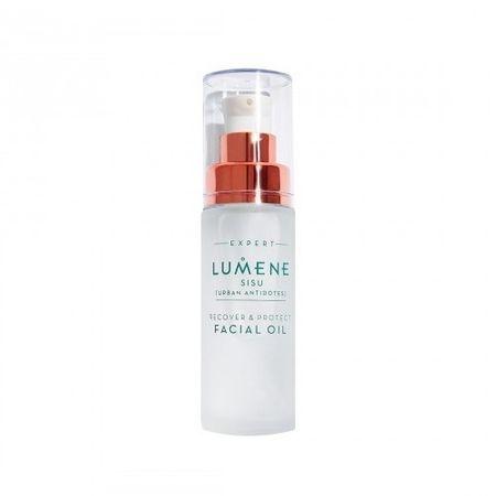 Lumene Sisu regeneráló és bőrvédő arcápoló olaj (Recover & Protect Facial Oil) 30 ml
