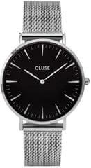 Cluse La Bohème Mesh Silver/Black CL18106