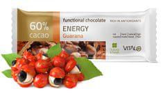 Vitalo Funkčné čokoláda Energy 25g
